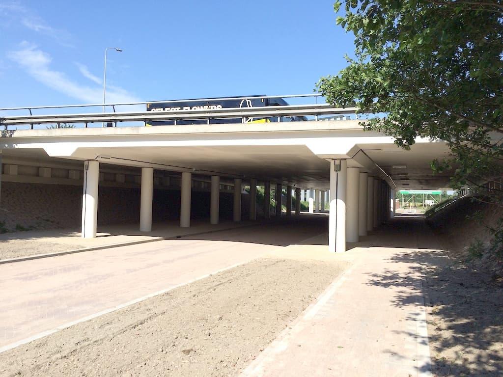 Conservering viaduct Leiden