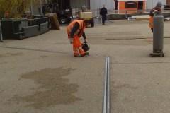 Geplaatste dialitatieprofiel van parkeerdek Utrecht