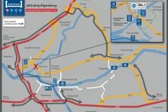 11. Algerabrug omleiding