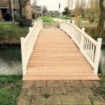 Vervangen houten brugdekken Pijnacker