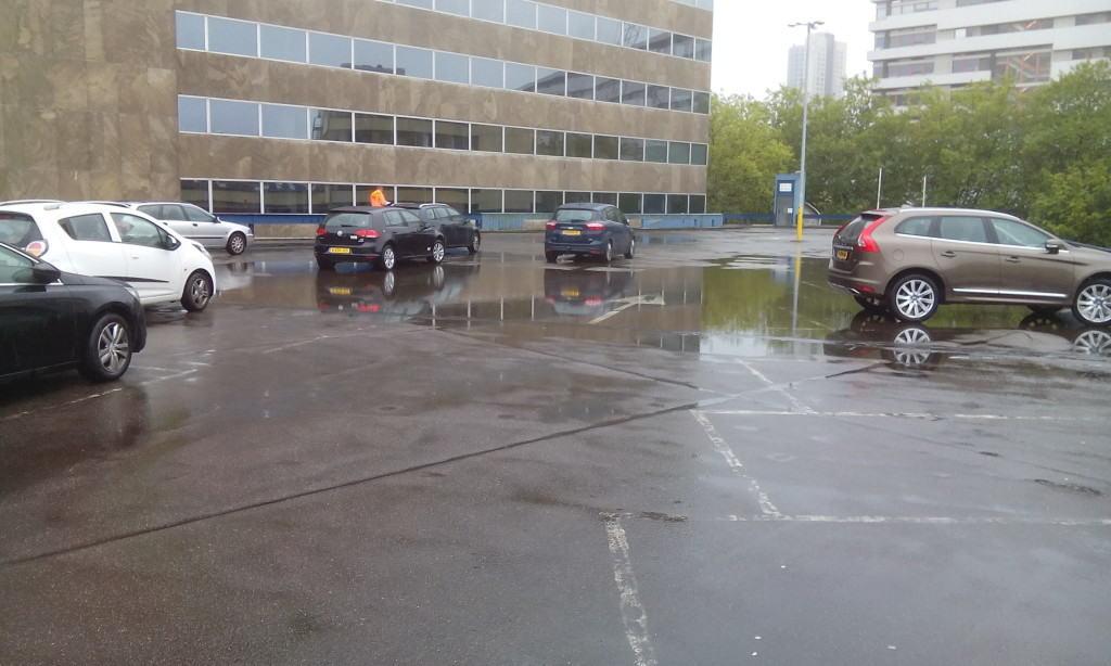 Renovatie parkeerdak Rotterdam