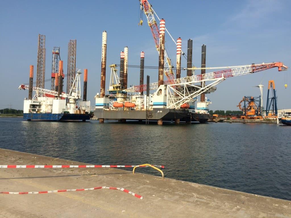 14.000 m2 Combinatiedeklaag Haven Vlissingen