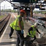 Dilatatievoegen vervangen op Station RAI