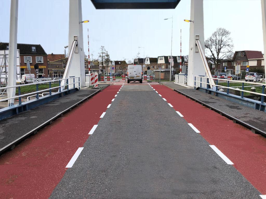 Groot onderhoud op Sluisbrug Purmerend